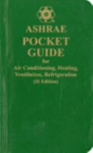 ashrae pocket guide for air conditioning heating ventilation rh ebay com ashrae pocket guide free download ashrae pocket guide for air conditioning