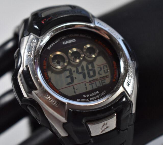Casio G Shock Gw 500a Solar Atomic Digital Sports Watch World Time Wr 200m