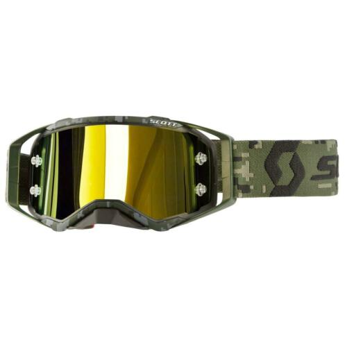 Scott Crossbrille Prospect Military Appreciation Kaki Green// Yellow Chrome Works