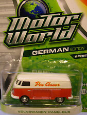 GREENLIGHT 1:64 SCALE DIECAST METAL DON CONNER AUTO REPAIR RED VW PANEL VAN
