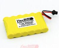 Ni-cd Aa 7.2v 900mah Rechargeable Battery To Emergency Light W/sm2p Plug 6sb Us