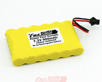 Ni-cd Aa 7.2v 900mah Rechargeable Battery To Emergency Light W/sm2p Plug 6sb Us