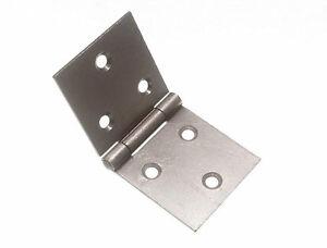 10-Pares-Parte-trasera-solapa-Caja-Bisagras-2-5cm-25mm-TORNILLOS