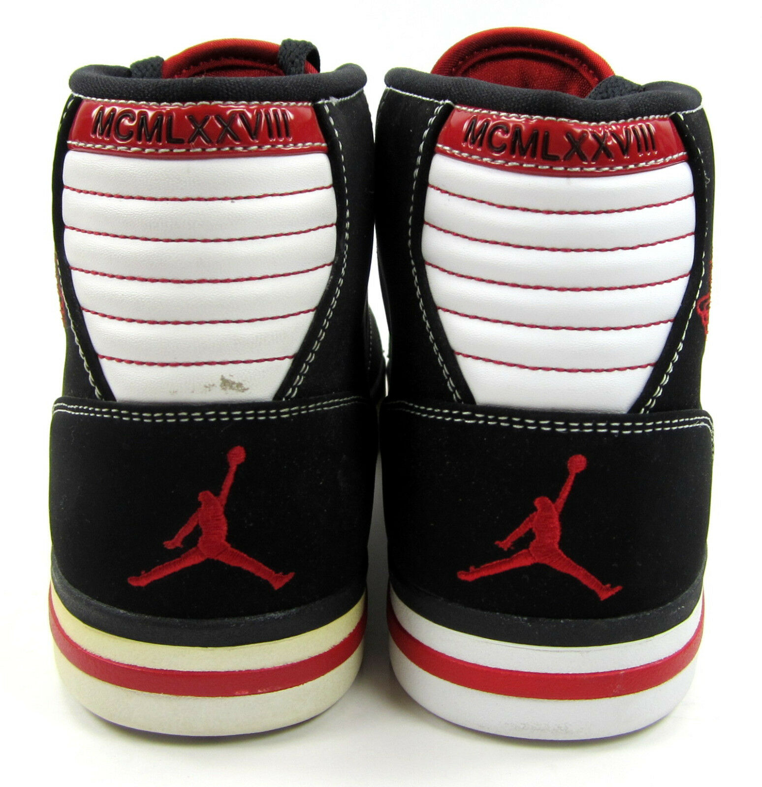 Nike Nike Nike shoes Air Jordan Phly Black Varsity Red White Sneakers Size 9 670a0c