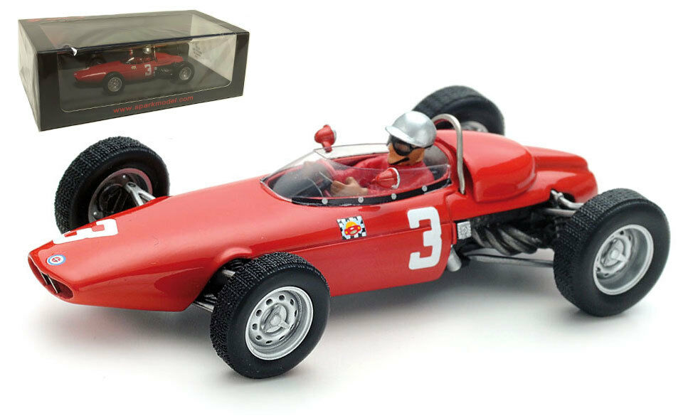 SPARK S5270 BRM P57  3 5th British GP 1963-LORENZO BANDINI 1/43 SCALA