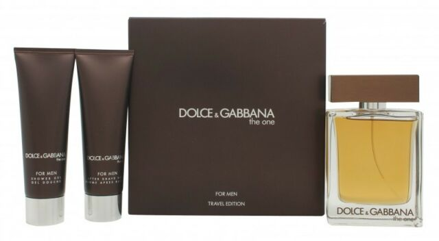 d84c1ad2 Dolce & Gabbana The One 3 Pieces Gift Set for Men (100ml EDT 45ml ...