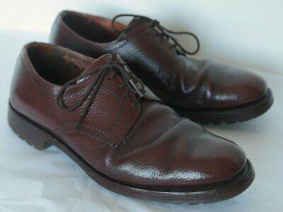 Audace Coppia Vintage Tecnic Sandalo Taglia 7 Made In England Cuoio Di Grano-mostra Il Titolo Originale Garanzia Al 100%