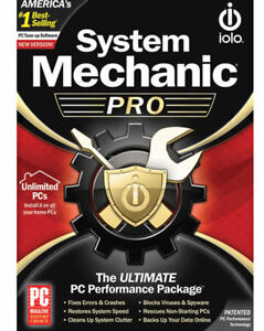 System Mechanic Pro By Iolo Unlimited New Retail Box Or