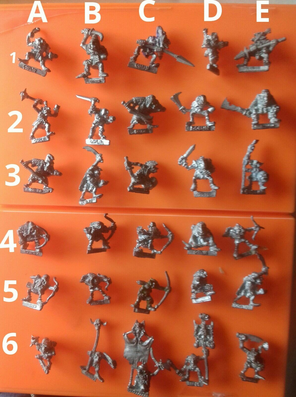 30x C12 goblin warriors citadel gw games workshop goblins Oldhammer slotta