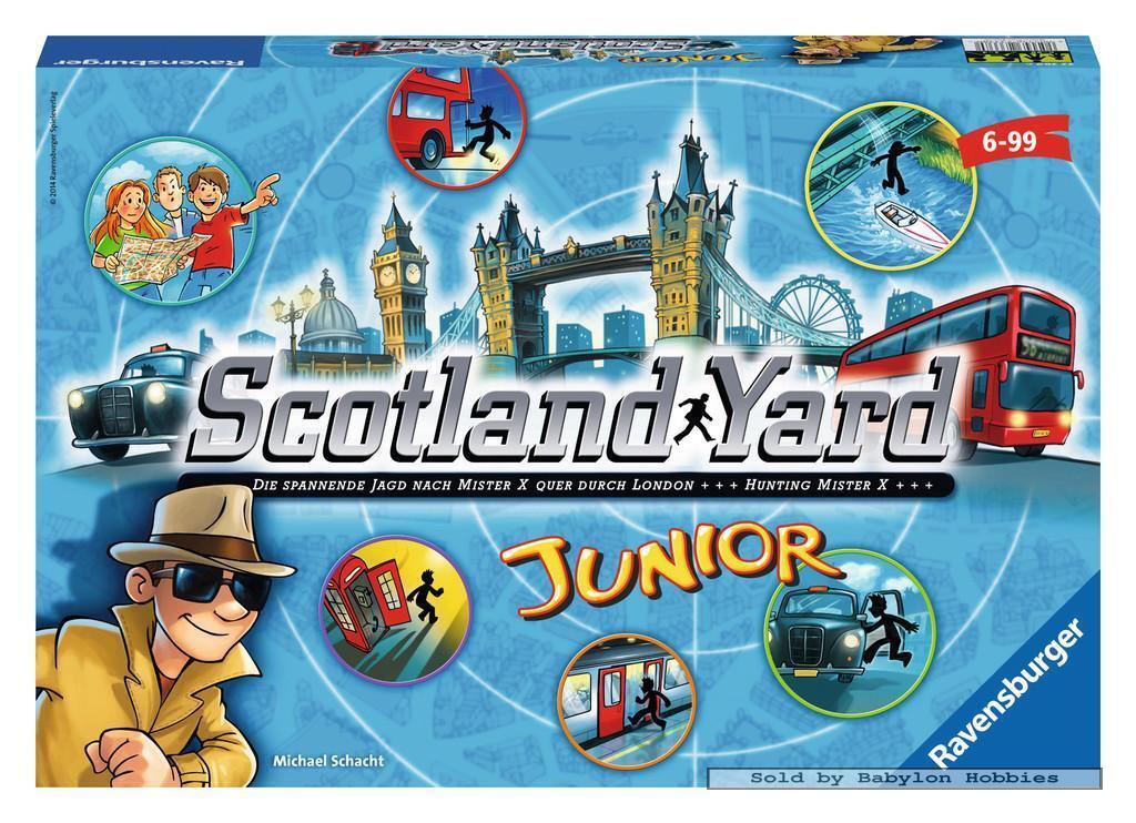Kinderspelen - Scotland Yard Junior (door Ravensburger) 222896