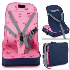 Portable Baby Dinning Booster Seat Travel High Chair Light