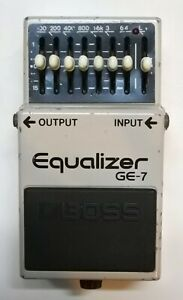BOSS-GE-7-Equalizer-Guitar-Effects-Pedal-made-in-Japan-1991-183-Free-Shipping