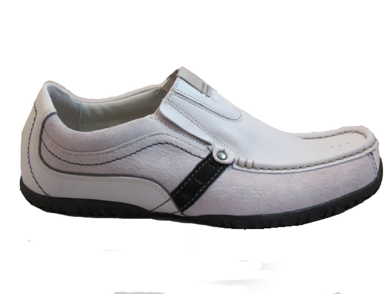 marchio famoso Skechers Uomo Slip On scarpe scarpe scarpe da ginnastica 61255 bianca  fino al 60% di sconto