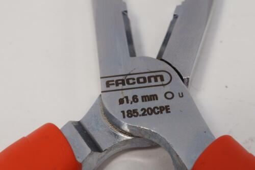 5 New FACOM France Long Needle Nose Pliers with Side Cutters Ergo Grips