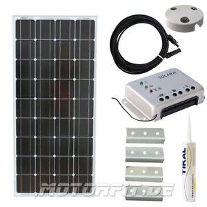Erneuerbare Energie Photovoltaik-hausanlagen 100w 12v Solar Spar Set Für Kastenfahrzeuge Komplett Solaranlage 100 Watt Top A Complete Range Of Specifications