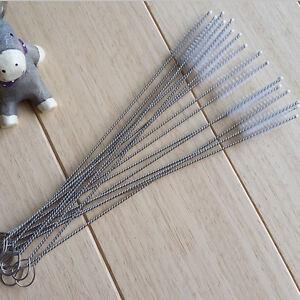 10x-Mini-Nylon-Baby-Milchflasche-Buerste-Saugflasche-Strohhalm-Reinigungsbuerste