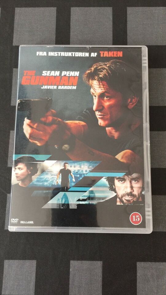 THE GUNMAN, instruktør Pierre Morel, DVD