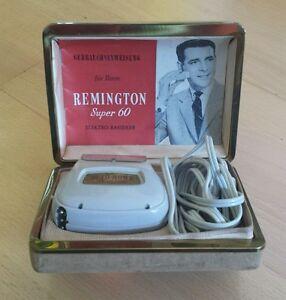 Remington Super 60 Rasierapparat 1957 Elektro Rasierer Sammlerstück - Deutschland - Remington Super 60 Rasierapparat 1957 Elektro Rasierer Sammlerstück - Deutschland