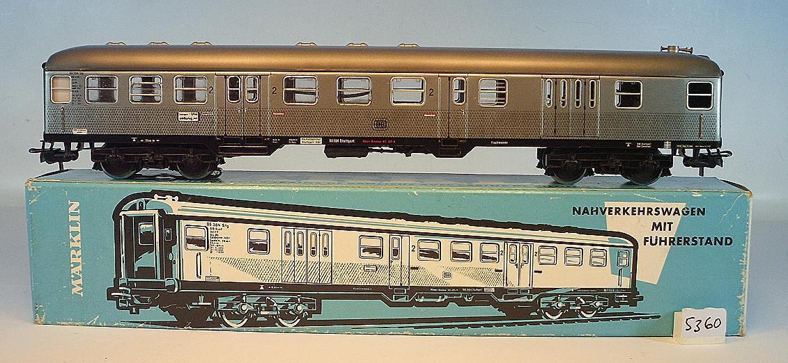 h0 4046 trasporti urbani carrello Silberling con cabina di 2. classe OVP  5360