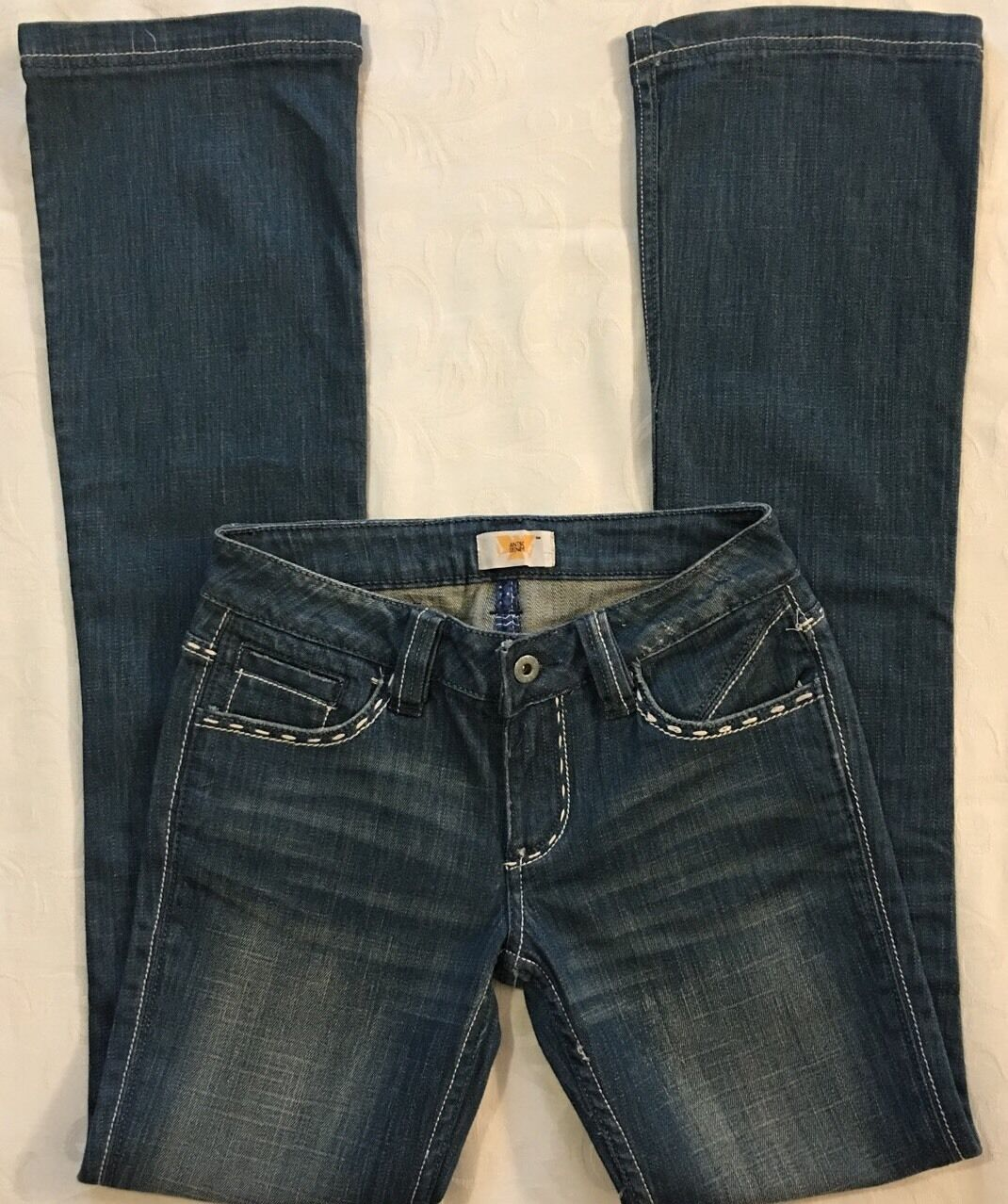 Women's ANTIK DENIM Boot Cut bluee Jeans Size 25 x 34 Long RNCUTE
