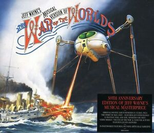 Jeff-Wayne-War-of-the-Worlds-New-CD-Holland-Import