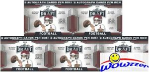 5-2019-Leaf-Draft-Football-Factory-Sealed-20-Pack-Blaster-Box-10-AUTOGRAPHS
