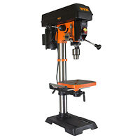 Variable Speed 12in Drill Press 2/3hp 5amp Motor Laser 5/8in Chuck Power Tool