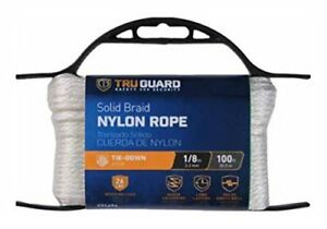 MIBRO-GROUP-THE-642161-Solid-Braided-Nylon-Rope-TG-1-8x100-Wht-Nyl