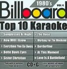 Various Artists Billboard Top 10 Karaoke 1980 S 4