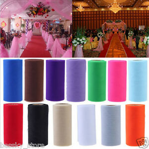 Details About 25 Yards Diy Colorful Tulle Paper Wedding Decoration Roll Birthday Holiday Decor
