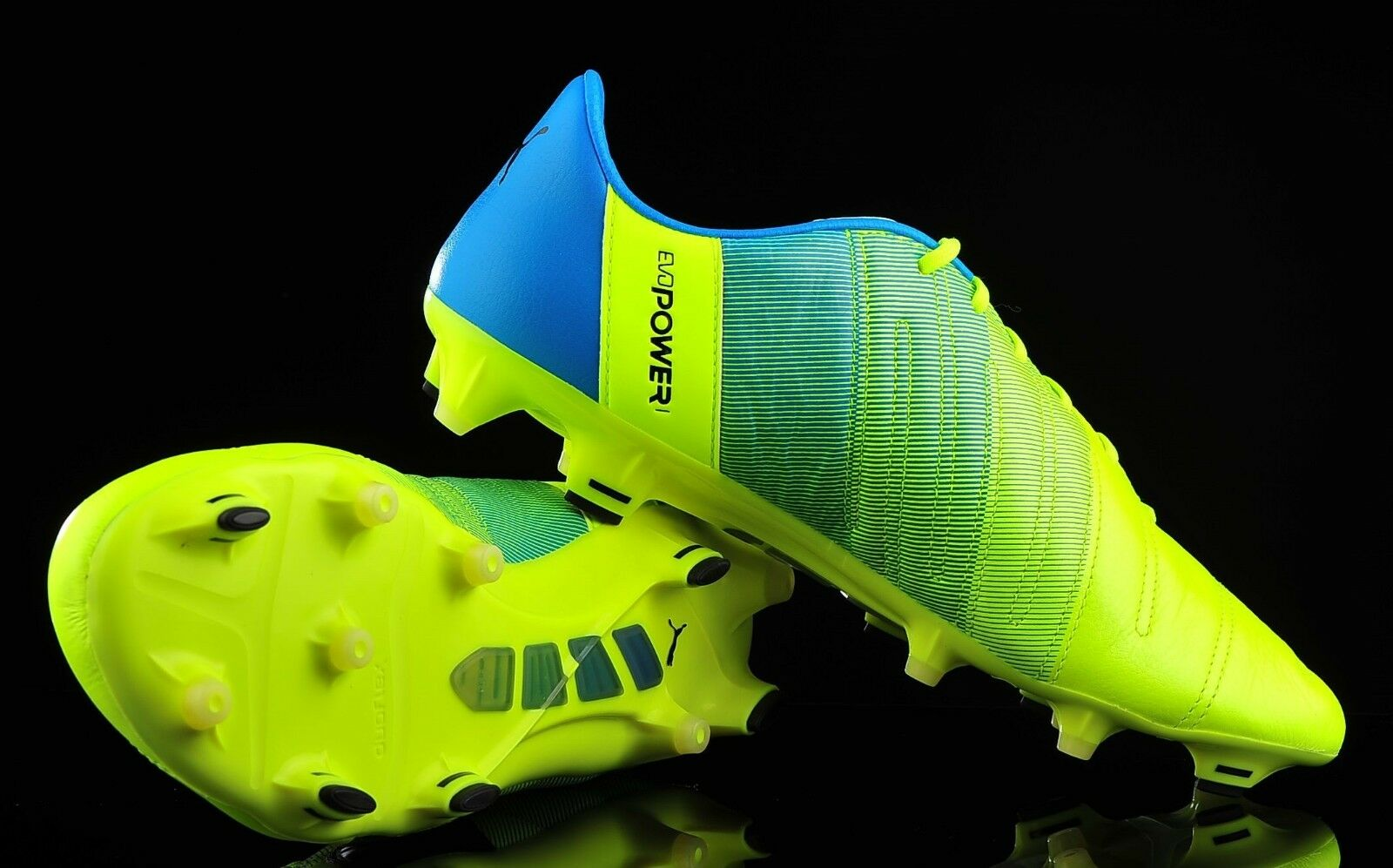 Puma de cuero evopower 1.3 FG soccer cleats reduction 103527 01 MSRP price reduction cleats 2f755b