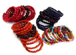 Spiralarmband, Armband, verschiedene Farben, bunt