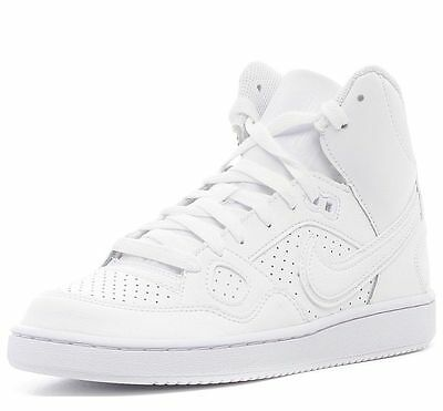 GS 615158-019 Big Kids Nike Son of Force Mid White//White New In Box