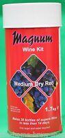 6 Magnum Medium Dry Red Wine Making Kits - Home Brewing - Wine Kit