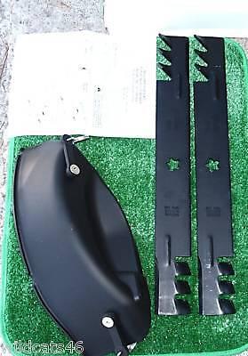 """46/"""" 403107 GATOR BLADE MULCH KIT MK46 fits some Craftsman POULAN HUSQVARNA 3 pcs"""