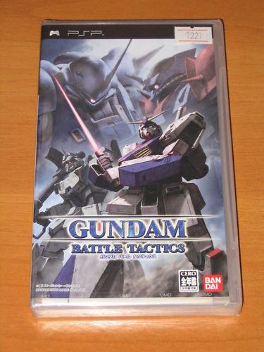GUNDAM BATALLA TÁCTICAS DE JUEGO UMD NUEVO PSP JAPAN