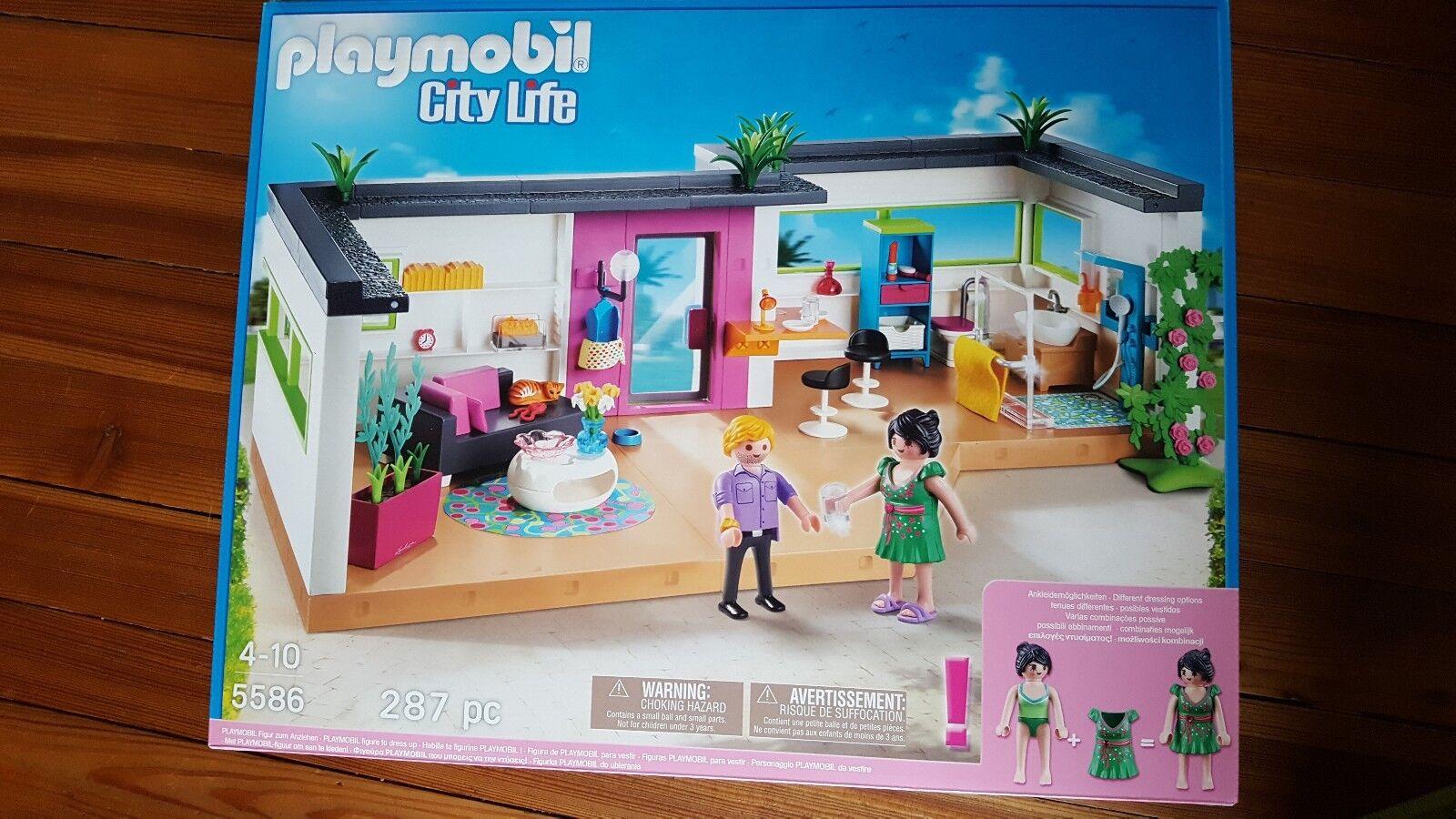 Playmobil City Life Gästebungalow 5586 Neu OVP    Spielen Sie das Beste