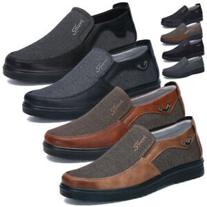 Men-039-s-Driving-Slip-on-Loafer-Summer-Vacation-Shoes-Breathable-Work-Casual-Shoes