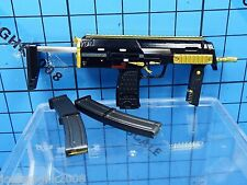 Dam Toys 1:6 Gk008 Gangsters Kingdom Spade 6 Ada Figure - MP7 + Short/Long Clips