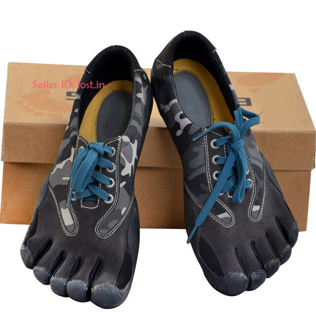 Men Camo Fingers Toes Athletic shoes Barefoot  Minimalist Trainers Climbing shoes  fitness retailer