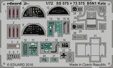 Eduard 1/72 Nakajima B5N1 'Kate' etch for Airfix # 73575