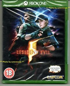 Resident-Evil-5-HD-includes-all-DLC-039-New-amp-Sealed-039-XBOX-ONE-1