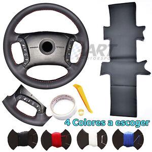 Funda-de-volante-de-4-radios-a-medida-para-Bmw-E38-E39-cuero-liso-y-perforado