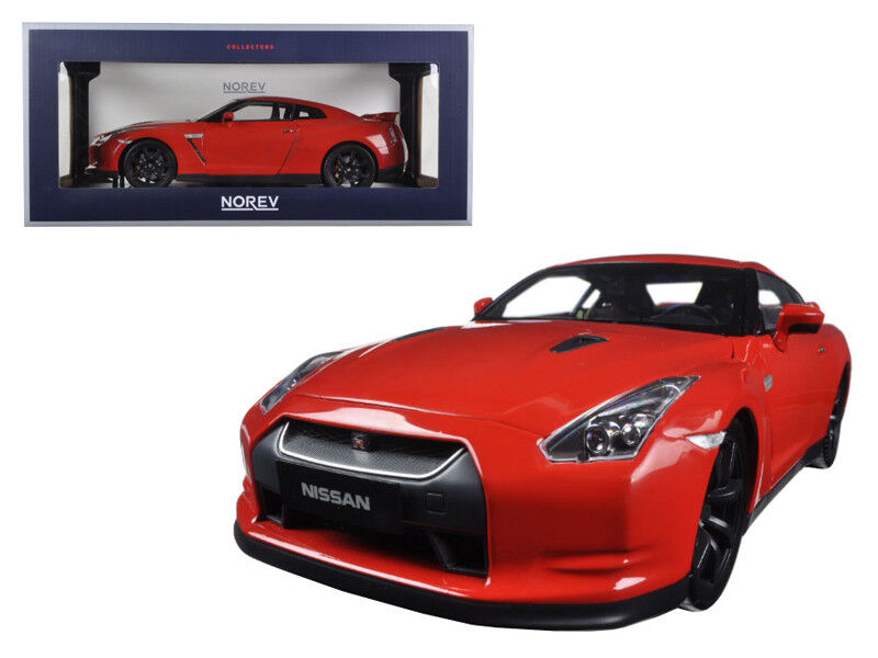 NOREV 1 18 2008 Nissan GTR R-35 Skyline Diecast Model Car rouge (188051)