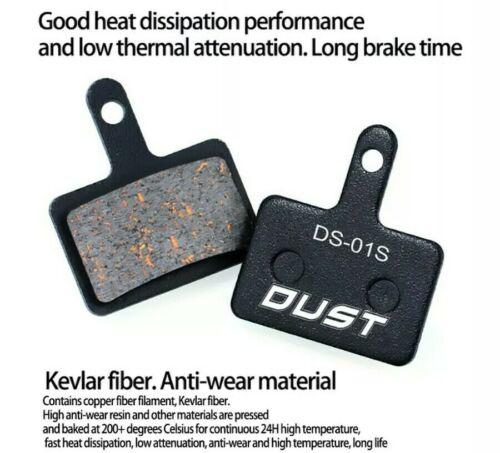 Pin B01S DUST Shimano ALTUS//ACERA//ALIVIO Semi Metallic Brake Pads