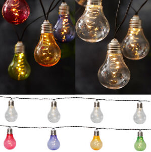 50 Micro Led Solar Lichterkette Glühlampe Partylichterkette Garten