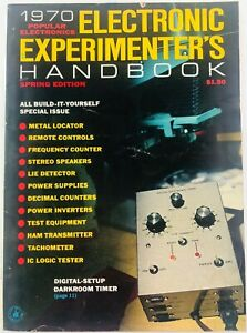 Popular Electronics Electronic Experimenter's Handbook Magazine Spring 1970  eBay