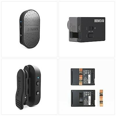 & HERO3 REMOVU RM-M1+A1 Wireless Microphone and Receiver for GoPro ...