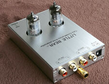 Little bear T7 Silver tube valve Phono RIAA MM Turntable RIAA Preamp  AUX