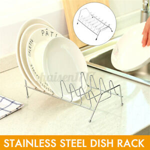 Dish Drying Rack Drainer Stand Shelf Racks Organizer Storage Holder Kitchen